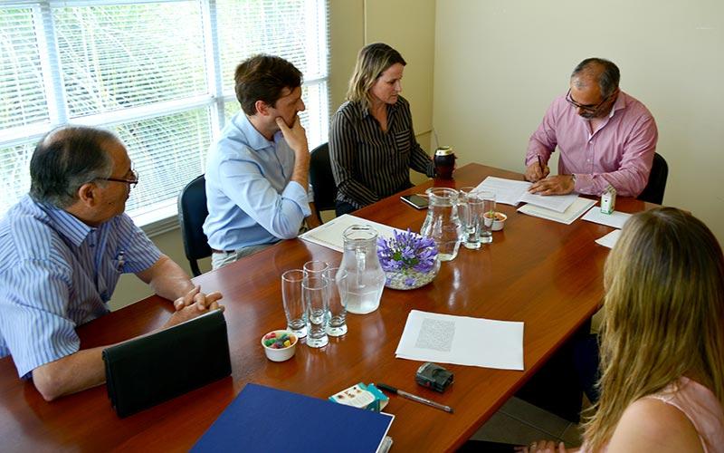 Centro de Interpretación Geológica-Termal firma del convenio de subvención